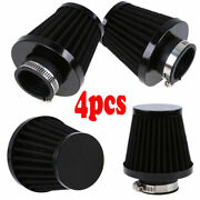 4 Pcs 54mm Universal Air Filters Pod Clean Fits For Honda Cafe Racer Motorcycle