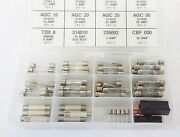 107x New Glass Buss Fuses Kit Assortment Chevy 3 7.5 10 15 20 25 30 Amps Nos Box