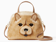 New Kate Spade New York Year Of The Dog Chow Chow Lottie Small Satchel Nwt