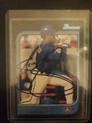 Rare And Mint 97 Bowman Topps Mint Condition Autographed Shannon Stewart Card