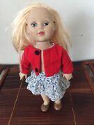 Madame Alexander Blond Blue Eyes Doll 18 2010 W Outfit