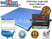 New Ntep Legal 40 X 40 Floor Scale Pallet 2000 X .5 Lb With Data Software