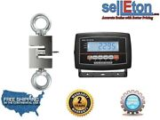 New Industrial Op-926 Hanging Scale/ Hoist / With Lcd Display 20000 Lb X 2 Lb