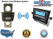 50000 Lbs X 10 Lb Tension Link Wireless Hanging Crane Scale Overhead Load Cell