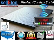 40 X 40 Floor Scale Equipped With Wireless Technology 5,000 Lb X 1 Lb