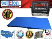 New Ntep Legal Industrial 48 X 72 4' X 6' Floor Scale With Ramp 5000 X 1 Lb