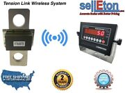 100000 Lbs X 20 Lb Tension Link Wireless Hanging Crane Scale Overhead Load Cell