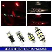 Red Led Interior Lights Package For 2012-2016 Vw Volkswagen Beetle Convertible