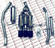 Magnaflow Sys Cat-back Exhaust System For 2017 Honda Civic Type R 2.0l 19383