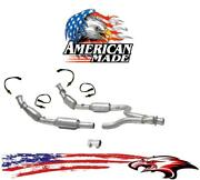 Y Pipe Converter And O2 Sensors Made In Usa For Ford Mustang 3.8l 99-04 3.9l 04