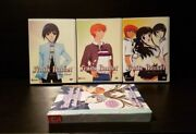 Lot Of 3x Fruits Basket Anime Dvds 2-4 Plus Unused Sticker Collection Book