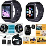 Smartwatch Unlocked Watch Cell Phone Bluetooth For Apple Iphone Android Samsung
