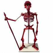 Giant 3d Skeleton Puzzle - Neanderthal - Recycled Hdpe - 8 Two-tone Color Combin