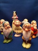 Snow White And The Seven Dwarfs Toothbrush Holders 1930and039s