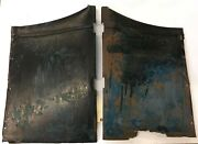 1926 Overland Whippet 4d Sedan Front Cowl Side Panels Pass And Dr For Restore