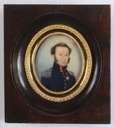 Regine Ambrogi Officer Of Pontifical Army With Order Of The Golden Spur 1830s