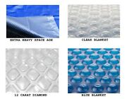 14and039 X 28and039 Rectangle Swimming Pool Solar Cover Blanket 800 1200 And 1600 Series