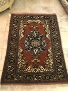 Antique Persian Carpets 6and0392 X 4and0393 Medallion Design Mashad