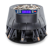 Accubanker Ab510 Coin Counter Sorter And Roller