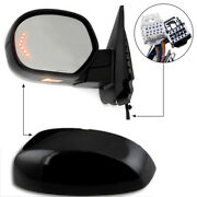 New Left Side Power Operated And Folding Mirror For Chevrolet/gmc Trucks 2007-2013