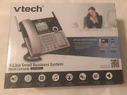 Vtech Cm18445 Small Business Telephone System 4-line Main Console Office Phone