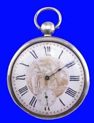 Substantial French Virgule Land039epine Calibre Ultra-thin Polychro Pocket Watch 1785