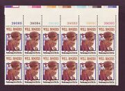 At Face 1801 Will Rogers. Wholesale Lot Of 10 Mint Plate Blocks. F-vf Nh