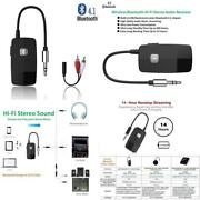 Receiver Adapter Bluetooth Audio Music 3 5mm Wireless Stereo Car Aux Speaker Usb