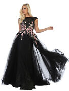 Sale Special Occasion Red Carpet Formal Dress Stunning Prom Evening Gown Pageant