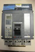 Pja36040cu44a Square D Powerpact Pj 400a 600v I Line Lsig 100 Rated Tested