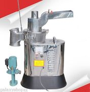 New Automatic Continuous Hammer Mill Herb Grinderpulverizer Machine40kg/h