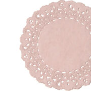 Misty Rose Paper Doilies   4 5 6 8 10 12 14 16   Pink Charger