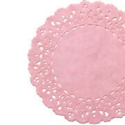 Pink Paper Doilies   4 5 6 8 10 12 14 16   Pink Chargers Placemat