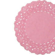 Strawberry Pink Paper Doilies   4 5 6 8 10 12 14 16   Pink Doily