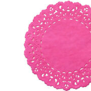 Hot Pink Paper Doilies   4 5 6 8 10 12 14 16   Pink Doily