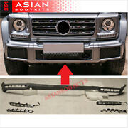 For Mercedes Benz W463 G Class G500 G350 Front Lip With Led Drl 2015+