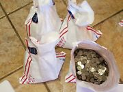 4 Bags= 400 Face Val Circulated Jefferson Nickels. Real Us Coins Copper/nickel