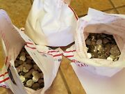 3 Bags= 150 Face Val Circulated Jefferson Nickels. Real Us Coins Copper/nickel