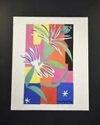 """Henri Matisse, Special Print """"creole Dancer"""". Hand Signed By Matisse. With Coa"""