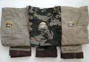 Wrangler Fleece Lined Cargo Pants Relaxed Fit - Work Fishing Hunting - Mens