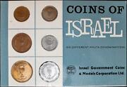 Coins Of Israel 6 Different Pruta Denominations Sealed Government Card