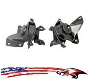 Front Left And Right Engine Mounts Fits Ford Mustang 1987-1993 Hard Top 2.3l