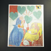 """Henri Matisse, Special Print """"the Conservatory"""". Hand Signed By Matisse W/ Coa"""