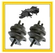3 Motor Mounts For 2002-2010 Lexus Sc430 4.3l V8 Engine And Trans Auto 03 4 56789