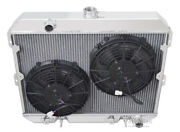 2 Row Racing Champion Radiator10 Fans For 1981-1983 Nissan 280zx L6 Eng