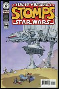Sergio Aragones Stomps Star Wars Comic Rare Bagged And Double Boarded Oop Art Groo