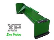 10and039 Xp30 John Deere Snow Pusher - Tractor Loader - Local Pick Up