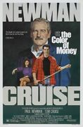 Color Of Money - 1986 Movie Poster Tom Cruise Newman Pool - Hollywood Posters