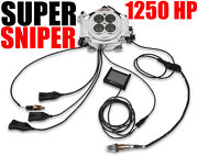 Holley 550-512 Sniper Efi 4150 Super Sniper 1250 Horse Power Forced Induction