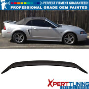Fits 99-04 Ford Mustang Oe Factory Style Trunk Spoiler Wing - Oem Painted Color